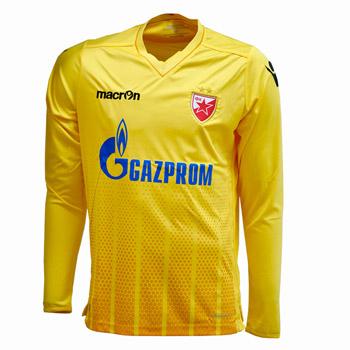 Macron FC Red Star goalie jersey 2017 18 - yellow   YU Sport Shop 9bfdfbc41