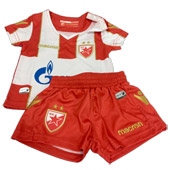 Macron grey shorts FC Red Star 2018 19. Macron baby kit red-white jersey  and shorts 18 19 fe6545d52