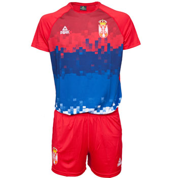 b137b8d1c Peak training men`s jersey and shorts of volleyball team Serbia in ...