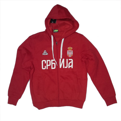 Serbien СРБИЈА wM 2018 Sweat Jacke Trikot Name Nummer