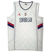 Peak Serbia national basketball team jersey for - white