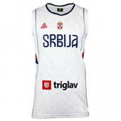 Peak Serbia Kids national basketball team jersey for - white