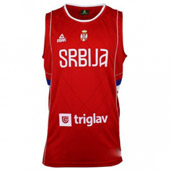 Peak Serbia Kids national basketball team jersey for - red