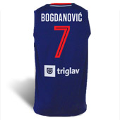 Peak Serbia national basketball team jersey for WC in China with print - blue