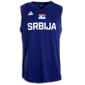 Peak Serbia national basketball team jersey for WC in China - blue