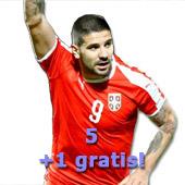 36e7cb46f Set 5+1 Puma Serbia home jerseys for World Cup 2018 with print   YU ...