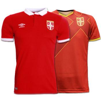 74bdb3ad474 Set of Umbro Serbia home jerseys : YU Sport Shop