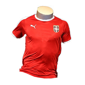 28ab979ccd7 Puma Serbia home jersey for World Cup 2018 : YU Sport Shop