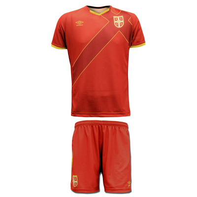 1fe43c2775e Umbro set - Serbia home jersey + shorts   YU Sport Shop