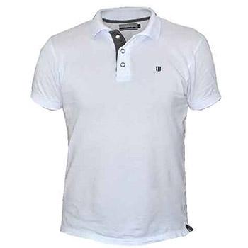 a5cdb7056 White polo t-shirt